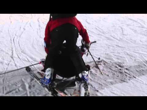 【影片】冬天玩韓國 第一次滑雪就上手
