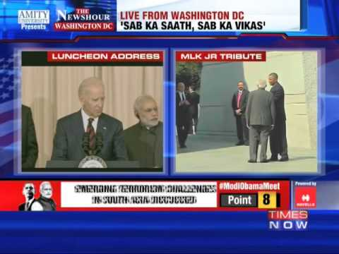 media - In a press briefing organised by United States Vice President Joe Biden in honor of Indian Prime Minister Narendra Modi, United States Secretary of State John Kerry addressed the media and...