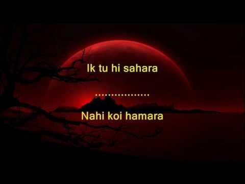 Video Ek Tu Hi Bharosa - Pukar - Full Karaoke download in MP3, 3GP, MP4, WEBM, AVI, FLV January 2017
