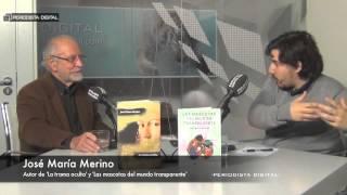 José María Merino, autor de 'La trama oculta' y 'Las mascotas del mundo transparente'.
