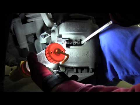 Mercedes Benz brake pad replacement tutorial, how to replace front pads and wear sensor. DIY