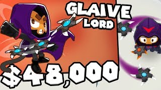 Bloons TD 6 - The Glaive Lord - Tier 5 Boomerang Monkey | JeromeASF