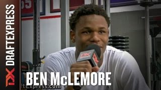 DraftExpress Exclusive - Ben McLemore NBA Pre-Draft Strength Workout