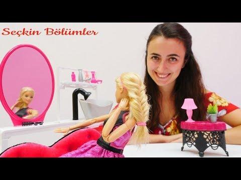 Barbie güzellik oyunları: SPA, saç boyatma yapalım!