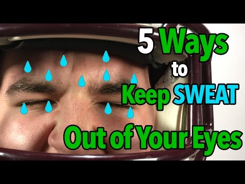 5 Ways to Keep SWEAT Out of YOUR EYES