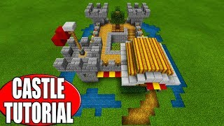 "Minecraft Tutorial: How To Make A Starter Castle Survival Base ""2019 Tutorial"""
