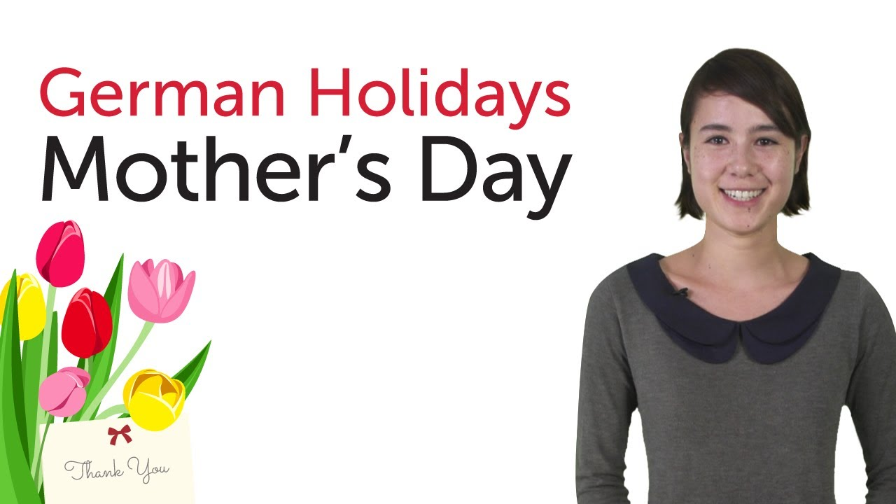 Learn German Holidays – Mother's Day