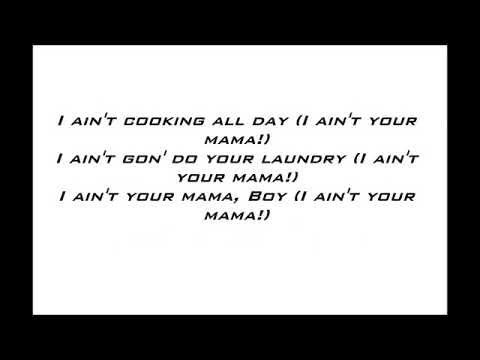 Jennifer Lopez  Ain39t Your Mama Lyrics