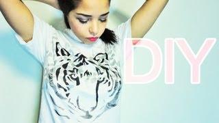DIY: Graphic T-shirt - YouTube