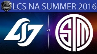 CLG vs TSM, game 1