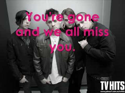 GOOD CHARLOTTE - YOU'RE GONE (LYRICS)