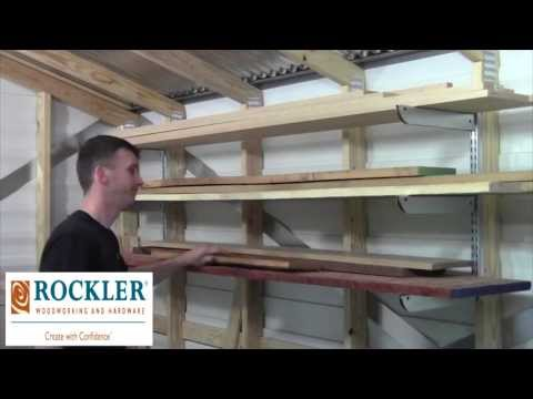 Adjustable Lumber Storage Rack Review: A Simple Design of Ocala