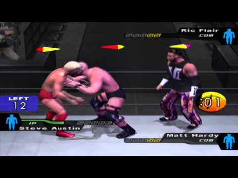 WWE: Here Comes the Pain (PS2) walkthrough - Royal Rumble