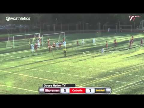 Washington College Men's Soccer - Goals v. Catholic