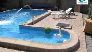 Технология строительства бассейна из бетонных блоков