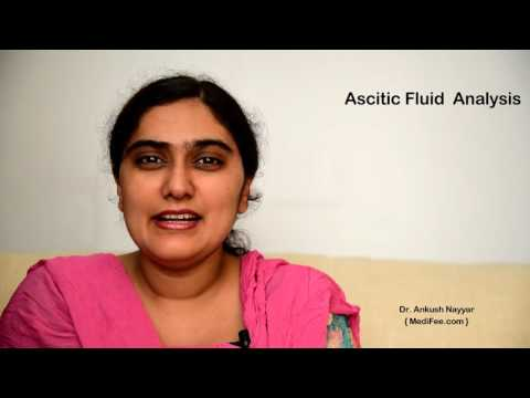 Ascitic Fluid Analysis - Diagnosing Cause of Fluid Buildup in Abdomen