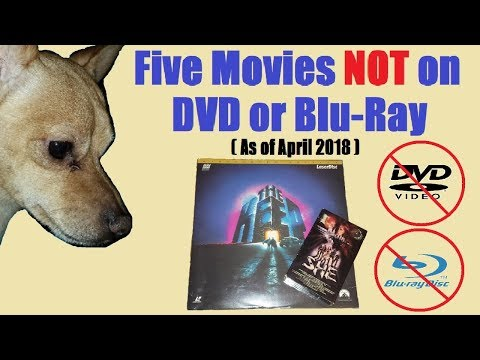 Five Movies Not Avaliable On DVD Or Blu-ray