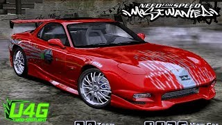 Nonton Dominic Toretto Mazda RX-7 Fast And The Furious NFS Most Wanted 2005 Mod Film Subtitle Indonesia Streaming Movie Download