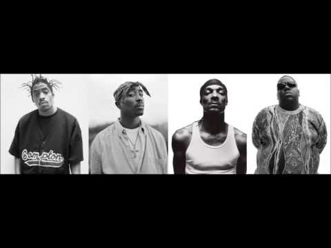 Coolio,2Pac,Snoop Dogg & Notorious B.I.G - Gangstas Paradise (Remix)