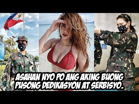 Arci Muñoz kauna-unahang babae na sumailalim sa Basic Military Training
