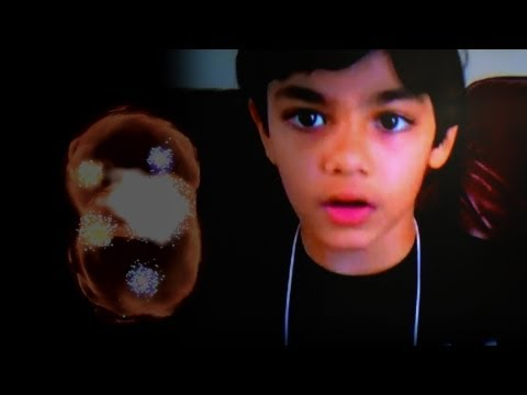 9-Year Old Prodigy Explains Higgs Boson (God Particle)
