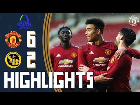 UEFA Youth League Highlights | Manchester United U19 6-2 Young Boys U19 | The Academy
