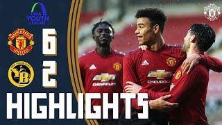Download Video UEFA Youth League Highlights | Manchester United U19 6-2 Young Boys U19 | The Academy MP3 3GP MP4