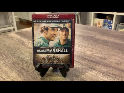 We are Marshall hd dvd unboxing