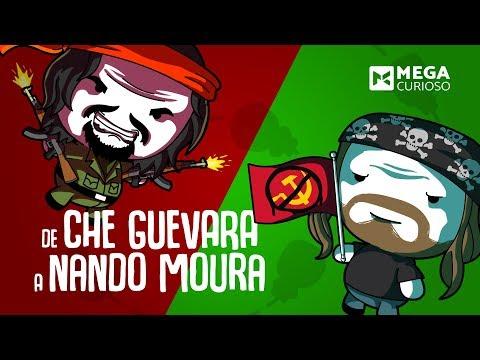 Nando Moura e Che Guevara ligados a apenas 5 apertos de mão? (видео)