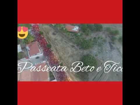 Vejá imagens do Drone da Carreata de Beto e Tico em Ibitiara