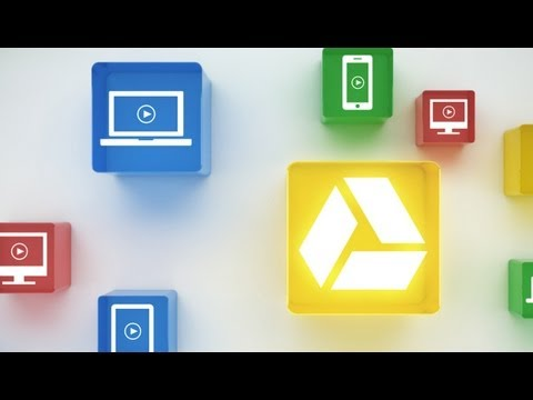 Image of Google Drive (GDrive) online storage solution by Google (video)