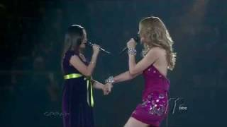 Charice and Celine Dion duet at Madison Square Garden (HD)