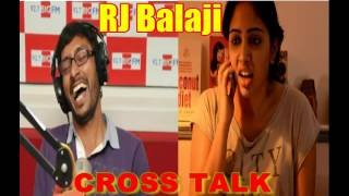 Video Cross Talk Girl Scolds RJ Balaji in Abusive Language (BAD WORDS) latest-2016 MP3, 3GP, MP4, WEBM, AVI, FLV Agustus 2019