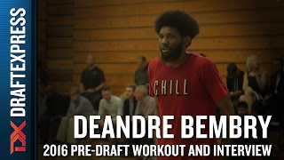 DeAndre Bembry Highlights from Pensack Sports Pro Day