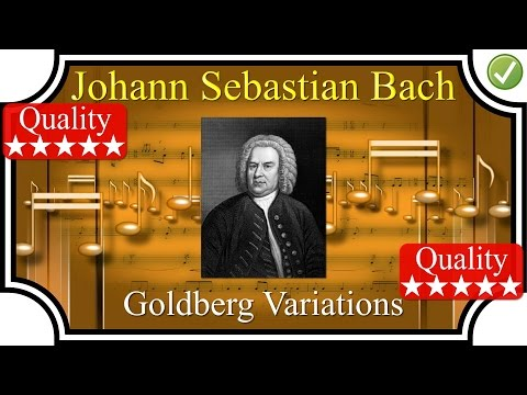 BACH – (FULL) Goldberg Variations BWV 988 – Piano – High Quality Classical Music HD