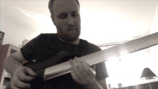 Bumblefoot - Little brother is watching - Fretless solo cover