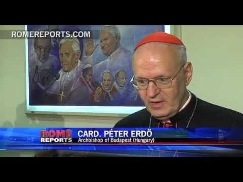 the state - http://en.romereports.com Cardinal Péter Erdo is the President of the European Bishops' Conferences. Recently, he along with vice Cardinal Angelo Bagnasco, m...