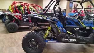 8. 2017 POLARIS RZR XP 1000 EPS WITH RIDE COMMAND TECHNOLOGY