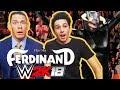 WWE 2K18 WITH JOHN CENA | John Cena n Ferdinand vs Chris Danger, Ali-A n Valiente