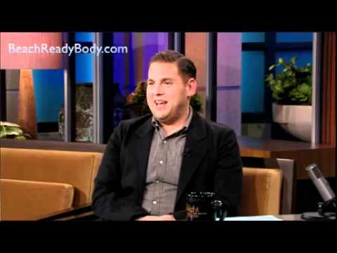 Jonah Hill Talks Up  P90X with Jay Leno