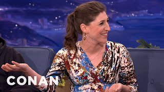 "Mayim Bialik's PHD Comes In Handy On ""The Big Bang Theory"" - CONAN on TBS"