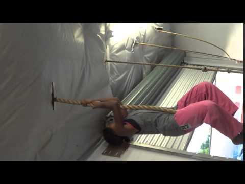 Amelia Tampa Florida Judo Rope Climbing 5-7-15 (видео)