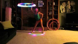 Hipnotyzujące hula hop