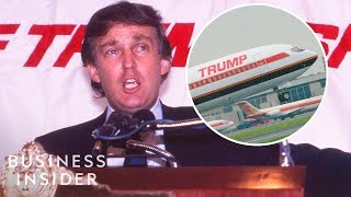 Video What Happened To Donald Trump's $365 Million Airline? MP3, 3GP, MP4, WEBM, AVI, FLV April 2019