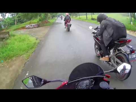 turing CBR250RR dari Bekasi ke Puncak (Rainbow Hills Bogor)