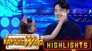 Video Stephen wipes off Ryan's sweat | It's Showtime KapareWHo MP3, 3GP, MP4, WEBM, AVI, FLV Maret 2019