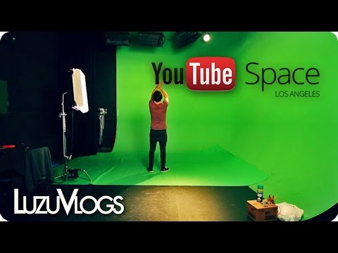 YOUTUBE SPACE Los Angeles – LuzuVlogs