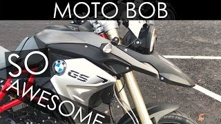 7. 2017 BMW F800 GS Test Ride & Review - Love This Bike!