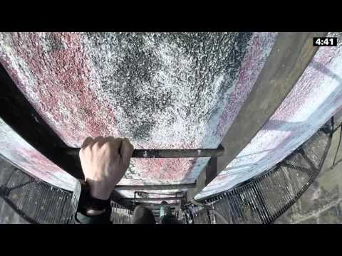 climbing daredevils ladders scary sploid video