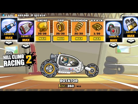 Hill Climb Racing 2 - NASA Update! 1.42.0 Walkthrough Gameplay